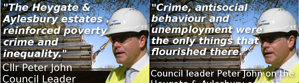 Cllr Peter John Quote