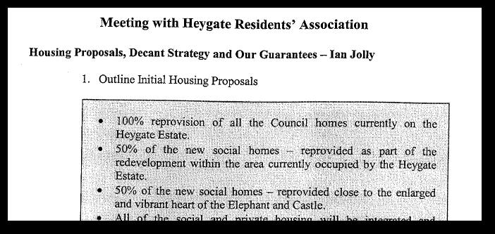 Affordable housing - broken promises